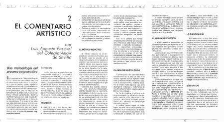 """Revista """"El Siglo que viene"""", separata"""