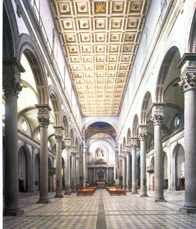 iglesia de san lorenzo de florencia laboratorio de arte