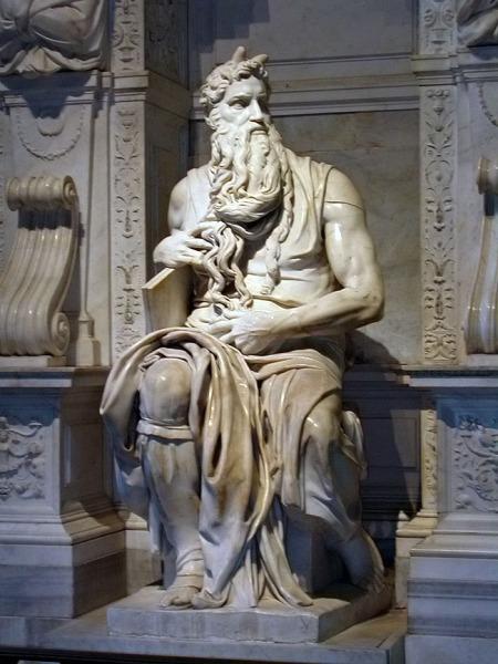 Moisés, San Pietro in Víncoli, Roma 3