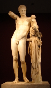 Hermes y niño Dionisos 5