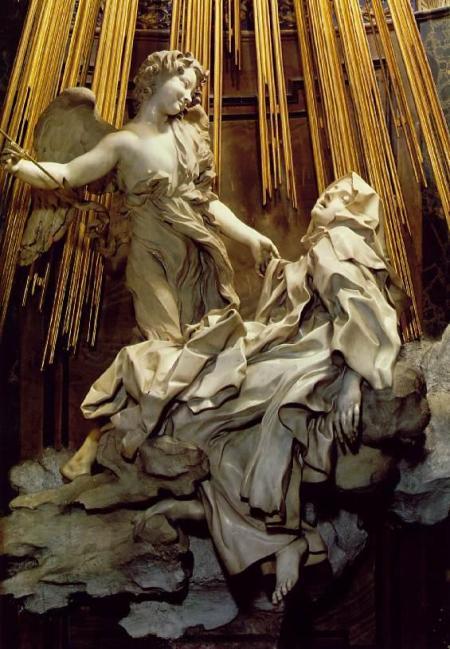 Éxtasis de Santa Teresa, iglesia de Santa María de la Victoria (Roma) 4