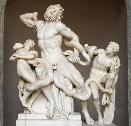 Laocoonte y sus hijos, MM Vaticanos 1