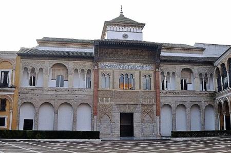 Patio de la Montería, Portada, Alcázar de Sevilla