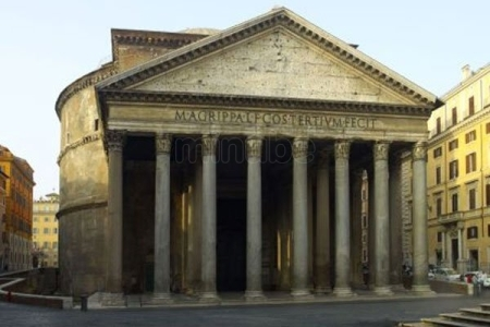 Panteón, frente